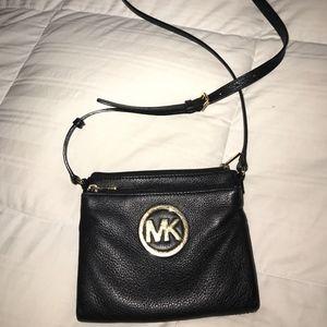 Black MK cross body bag